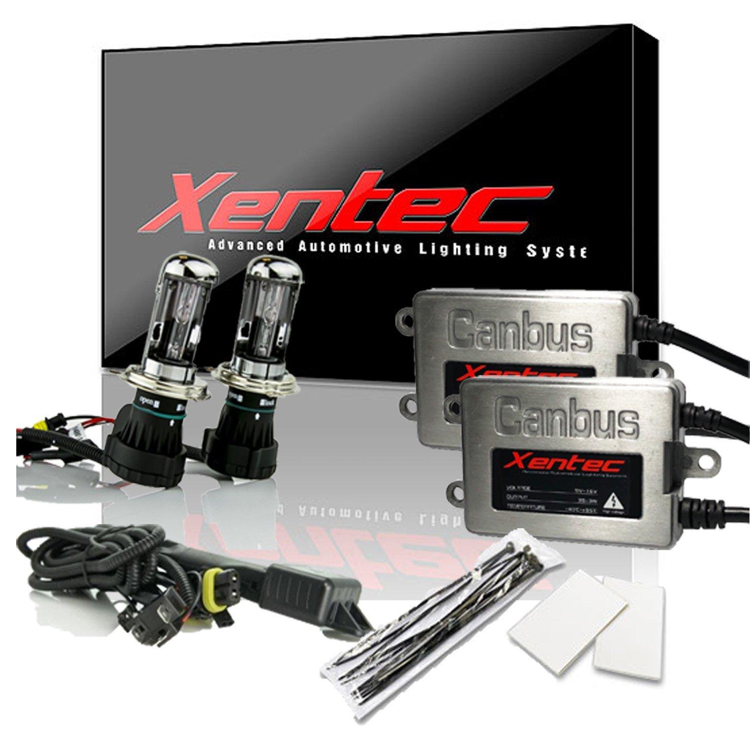 Amazon.com: Xentec HID Kit H4 (HB2) 8000K Hi/lo Telescopic bixenon with 45W  Error Free Slim CANBUS Ballast (Light Blue): Automotive