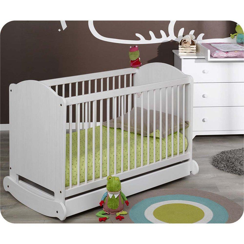 Mini Babyzimmer Natur weiß mit Wickelfläche