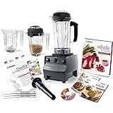 Vitamix 5200 Deluxe Complete Kitchen Set, Black 64 Oz Wet/32 Oz Wet/32 Oz Dry...