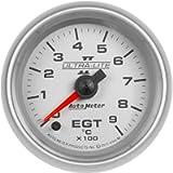 AUTO METER 4944-M Gauge Pyrometer (EGT) (Ultra-Lite II 2 1/16', 900ºc, Digital Stepper Motor, Ultra-Lite Ii)
