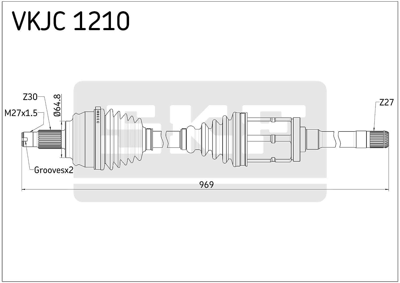 Antriebswelle SKF VKJC 1210