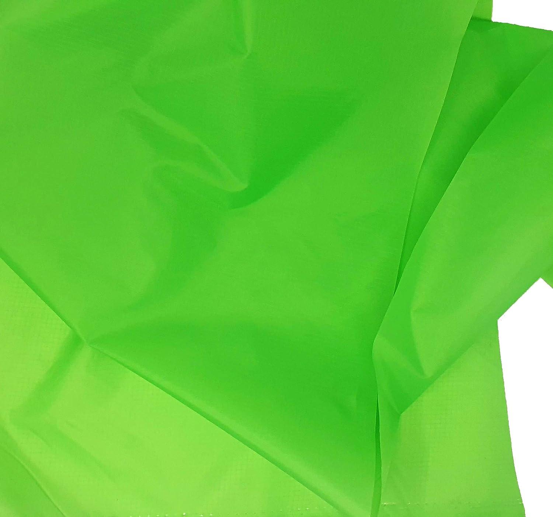 Tela impermeable color verde manzana para hacer paraguas, forros,corta vientos.Tejido fino, ligero y resistente. K6426 - Kadusi