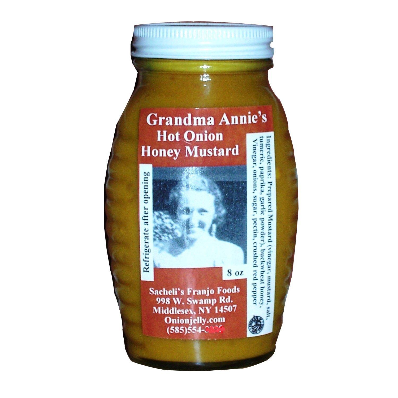 8 Oz. Grandma Annie's Hot Honey Mustard