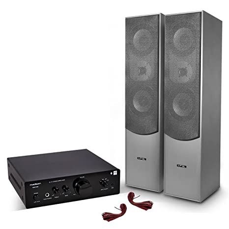 Par de altavoces HiFi Home Cinema/2 x 500 W + Amplificador ...