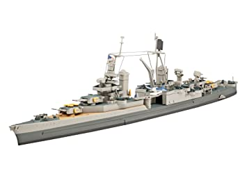 Revell U.S.S. Indianapolis (CA-35) 1:700 Naval Ship Assembly ...