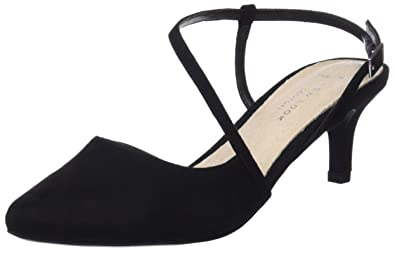 New Look Damen Wide Fit-Stride Riemchen Pumps