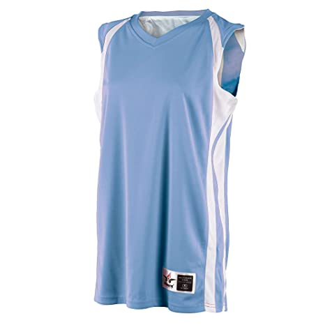8520b9db804 Alleson Mens Reversible Basketball Jersey - Columbia Blue - 2X-Large