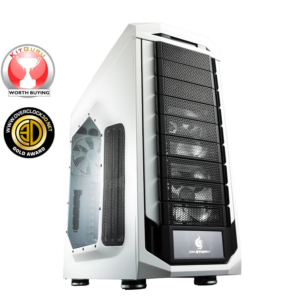 CM Storm Stryker - Gaming Full Tower Computer Case with USB 3.0 Ports and Carrying Handle (SGC-5000W-KWN1) by Cooler Master