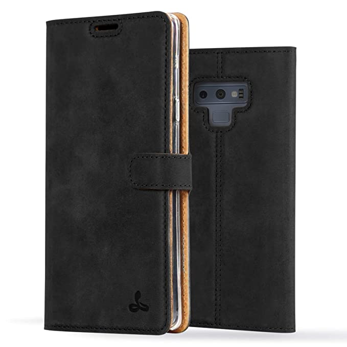 detailing 18699 41720 Samsung Galaxy Note 9 Case, Luxury Genuine Leather Wallet with Viewing  Stand and Card Slots, Flip Cover Gift Boxed and Handmade in Europe by  Snakehive ...