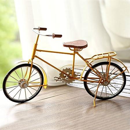 PAOSOSO Bicicleta Vintage Retro Lata Modelo/Hierro-B: Amazon.es: Hogar