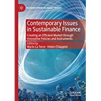 Contemporary Issues in Sustainable Finance: Creating an Efficient Market through Innovative Policies and Instruments