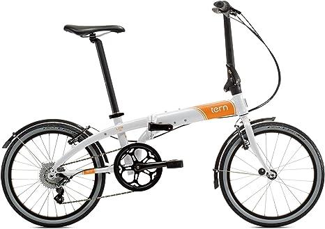 Tern Link D8 - Bicicleta Plegable, Color Blanco: Amazon.es ...