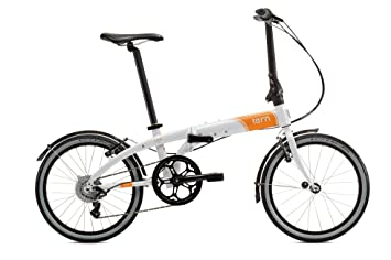Tern Link D8 - Bicicleta Plegable, Color Blanco
