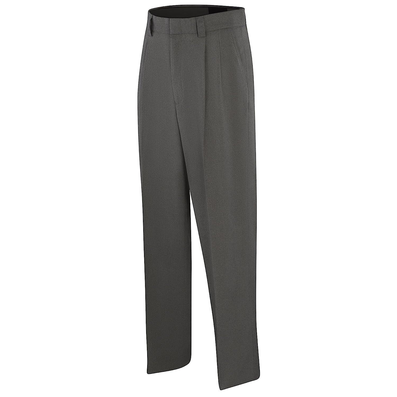 Adams USA ADMBB371-46-CG Umpire Combo Pleated Poly/Spandex Uniform Pants, Charcoal Grey, Size 46 Schutt Sports