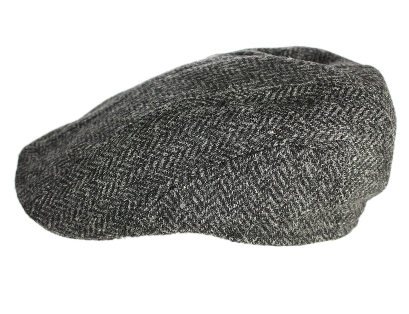 e92d7946ad5 Touring Cap Irish Made Tweed Structured Duckbill Fit Grey Made in Ireland  John Hanly   Co. Large Apparel