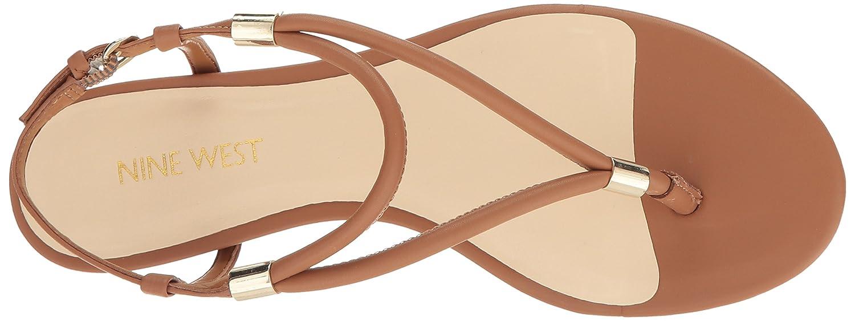 Nine West Women's Rivers Synthetic Dress Flats Sandal B01M0QXLKI Flats Dress 4daa11