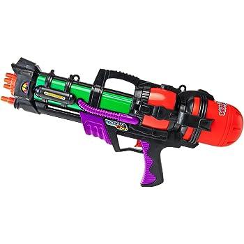 Für den besonderen Spielspaß sorgen die Wasserpistolen von Nerf, Hasbro und Beluga.