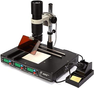 T862+ SMD// BGA Rework Station SMT SMD IRDA Welder Infrared Heating Soldering US