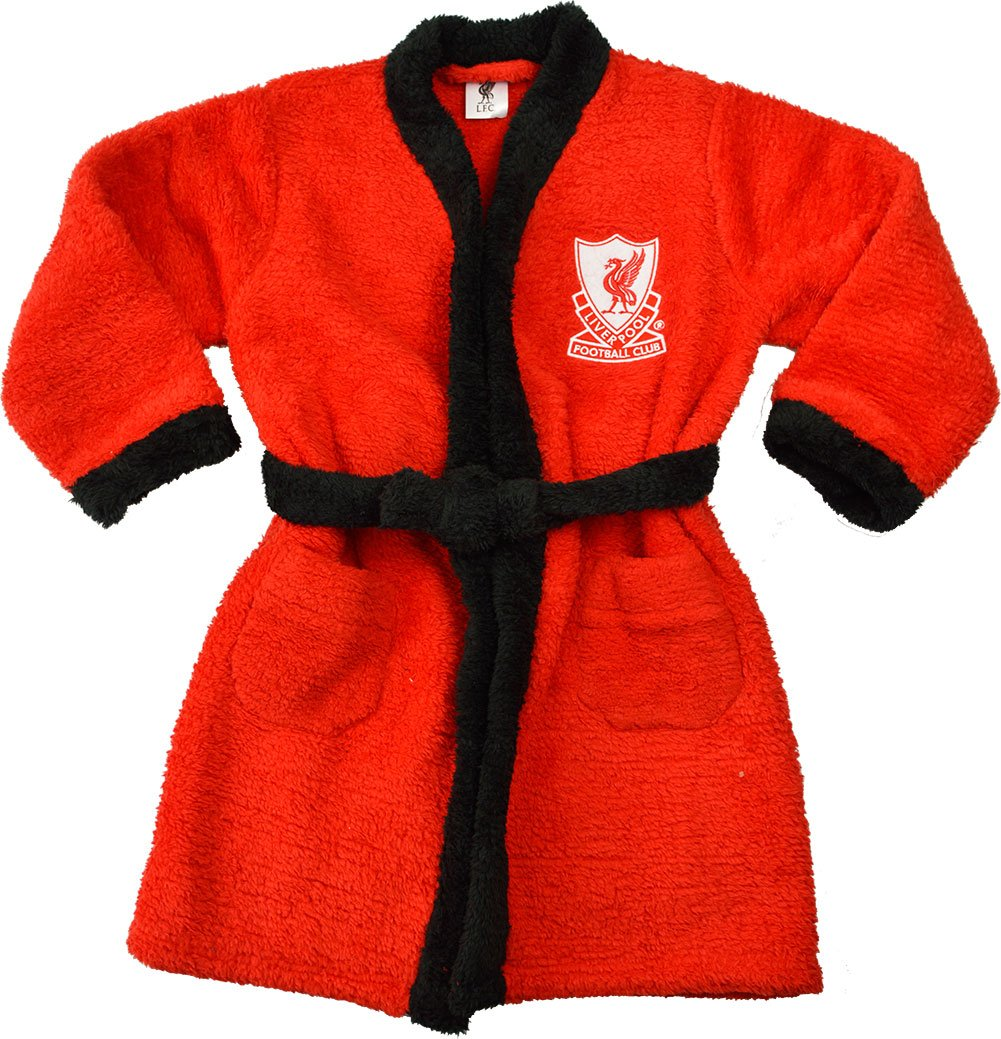 Boys - Liverpool Football Club Bath Robe Dressing Gown House Coat