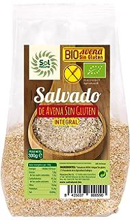 Sol Natural Salvado de Avena, sin Gluten - Paquete de 6 x 300 gr -