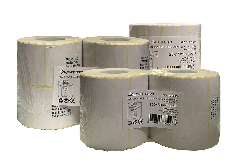 Etikettenrolle, 25 x 15 mm, 3000-4 3000-4 3000-4 Rollen 57x45mm x 500 4 rolls weiß B07KDVNLBD | Qualität Produkte  | Up-to-date-styling  | Zuverlässige Leistung  b4f7ee