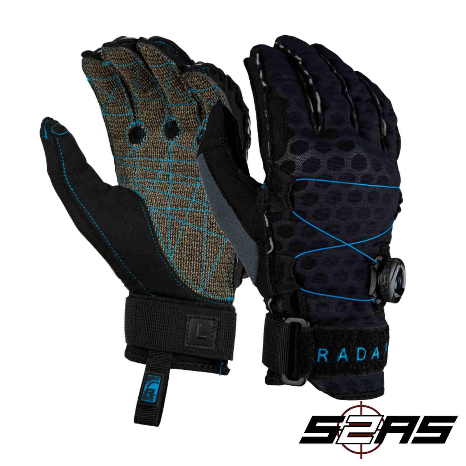 Radar Vapor K - BOA - Inside-Out Glove - Black/Blue Ariaprene - XL