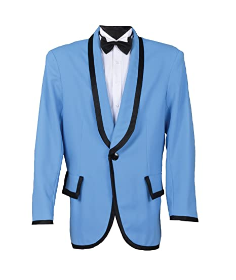60s -70s  Men's Costumes : Hippie, Disco, Beatles 1950s Tuxedo Crooner Doo Wop or Gangnam Style Jacket $179.99 AT vintagedancer.com