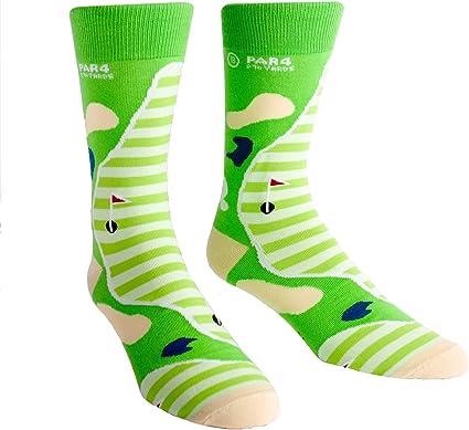 "Sock It To Me Men's""Par 4"" Golf Crew Socks"