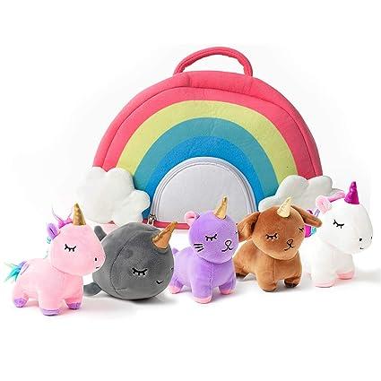 Amazon.com: PixieCrush - Juego de juguetes de unicornio de ...