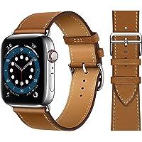 Pulseira de couro para Smartwatch 38mm - Marrom