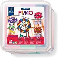 Staedtler Fimo Soft Modellering Clay - Dream Catcher - gemakkelijk uit te rollen, hardt in de oven. Pack van 26 x 57g…