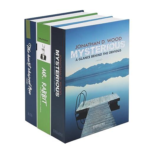 10 opinioni per HMF 4312202- Cassaforte segreta, a forma di libri, misura XL, 22 x 13 x 15 cm