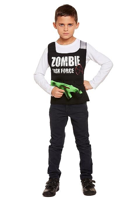 Henbrandt - Disfraz de Zombie para niños de Halloween (Edad ...
