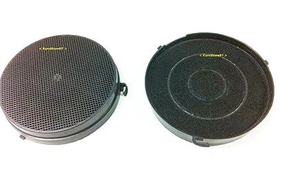 falmec filtro tipo 6  FILTRO 2 pezzi AI CARBONI ATTIVI PER CAPPA FALMEC FK351 diametro 17 ...