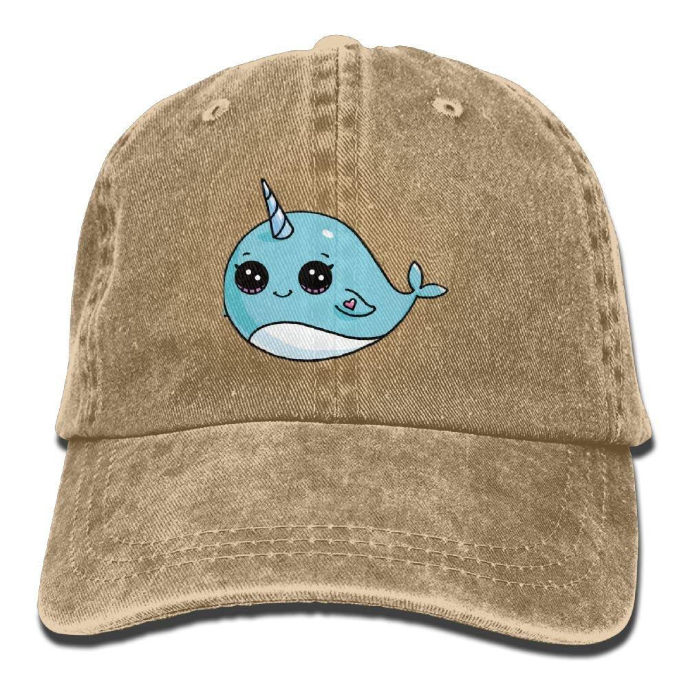 Lovely Unicorn Trend Printing Cowboy Hat Fashion Baseball Cap For Men and Women Black