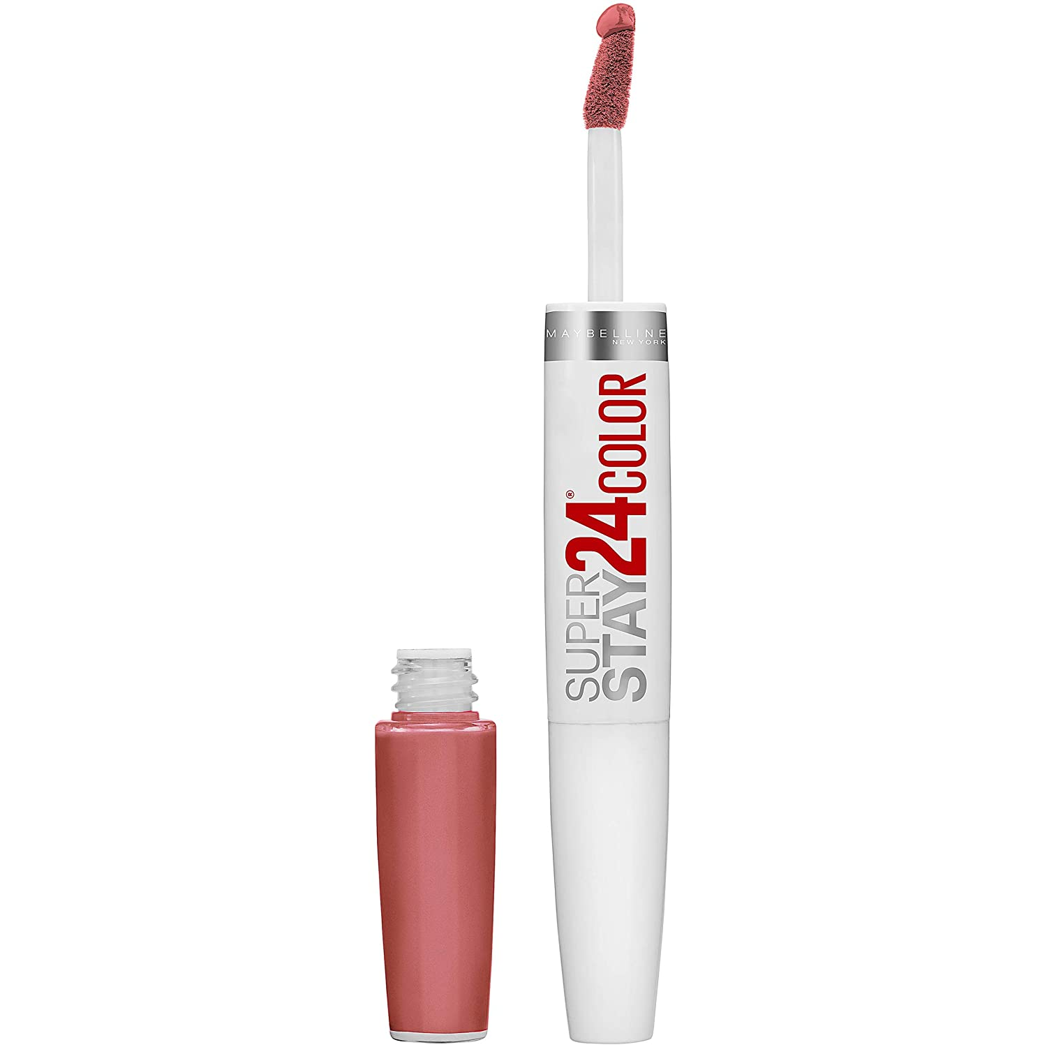 Maybelline New York Superstay 24 2-step liquid lipstick makeup, Frosted Mauve