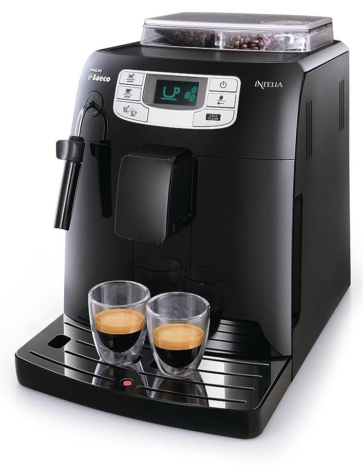 Saeco HD8751/11 Machine à Espresso Intelia Focus Black: Amazon.fr ...
