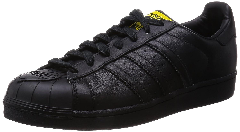adidas Herren Sportschuhe  45|Schwarz (Core Black/Yellow)