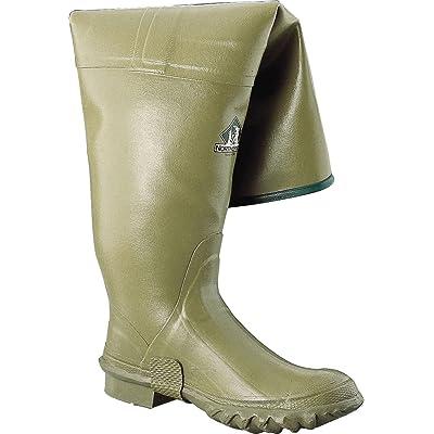 "Ranger 26"" Heavy-Duty Men's Rubber Hip Boots, Olive (11135): Home Improvement..."