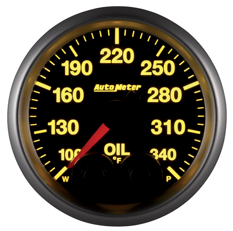 Auto Meter 5640 Elite Series Oil Temperature Gauge