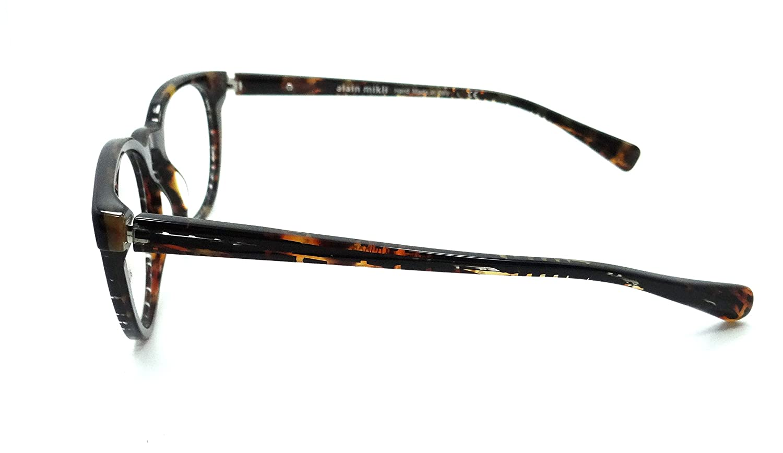 Alain Mikli Rx Eyeglasses Frames A03063 B211 49-19-140 Squares Black Havana