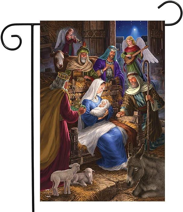 Briarwood Lane Holy Family Christmas Garden Flag Nativity Religious 12.5