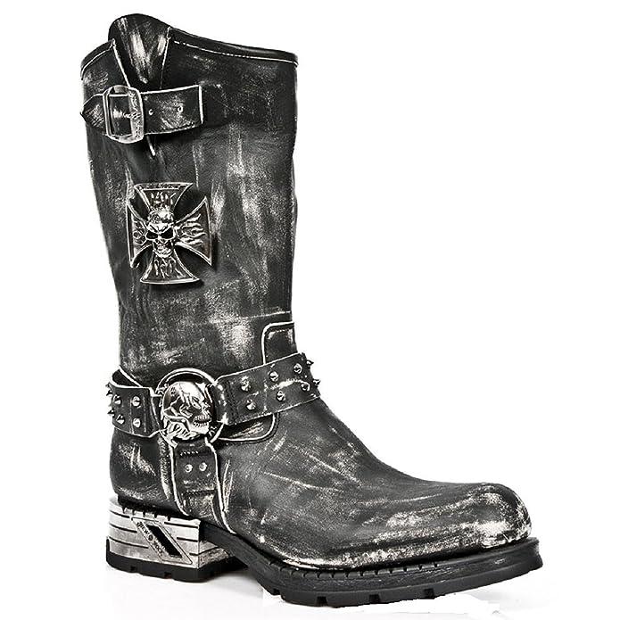 M Mr030 S2, Mens Biker Thigh-High Boots New Rock