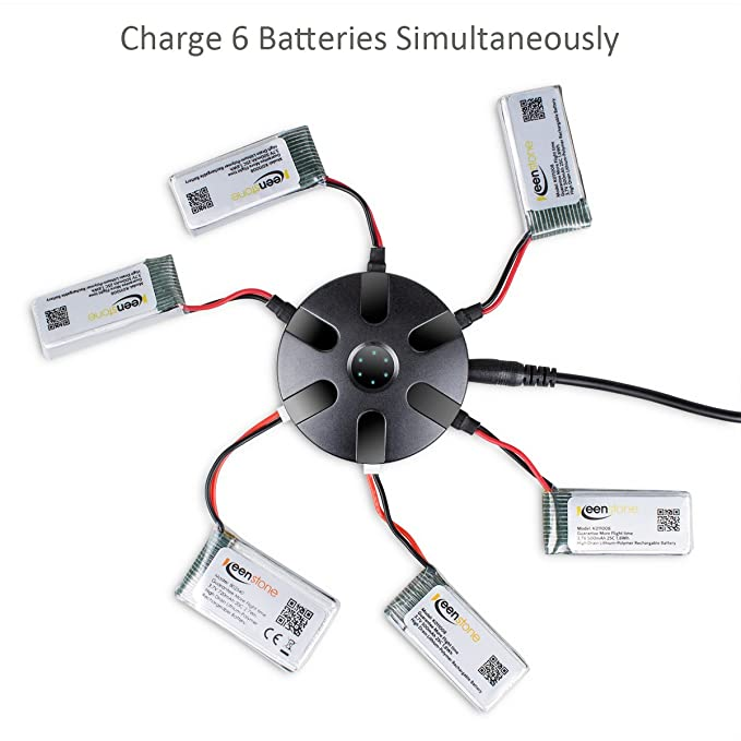 Upgrade Keenstone 6pcs 37v 720mah Battery For Syma X5c X5a X5sw. X5sw X5sc X5sc1 X5c X5c1 X5sw1 X5 X5swv3 Top Race Trq511 Quadcopters Striker Spy Drone Overcharge Protection Batteries Amazon Canada. Wiring. Striker Drone Wiring Diagram At Scoala.co