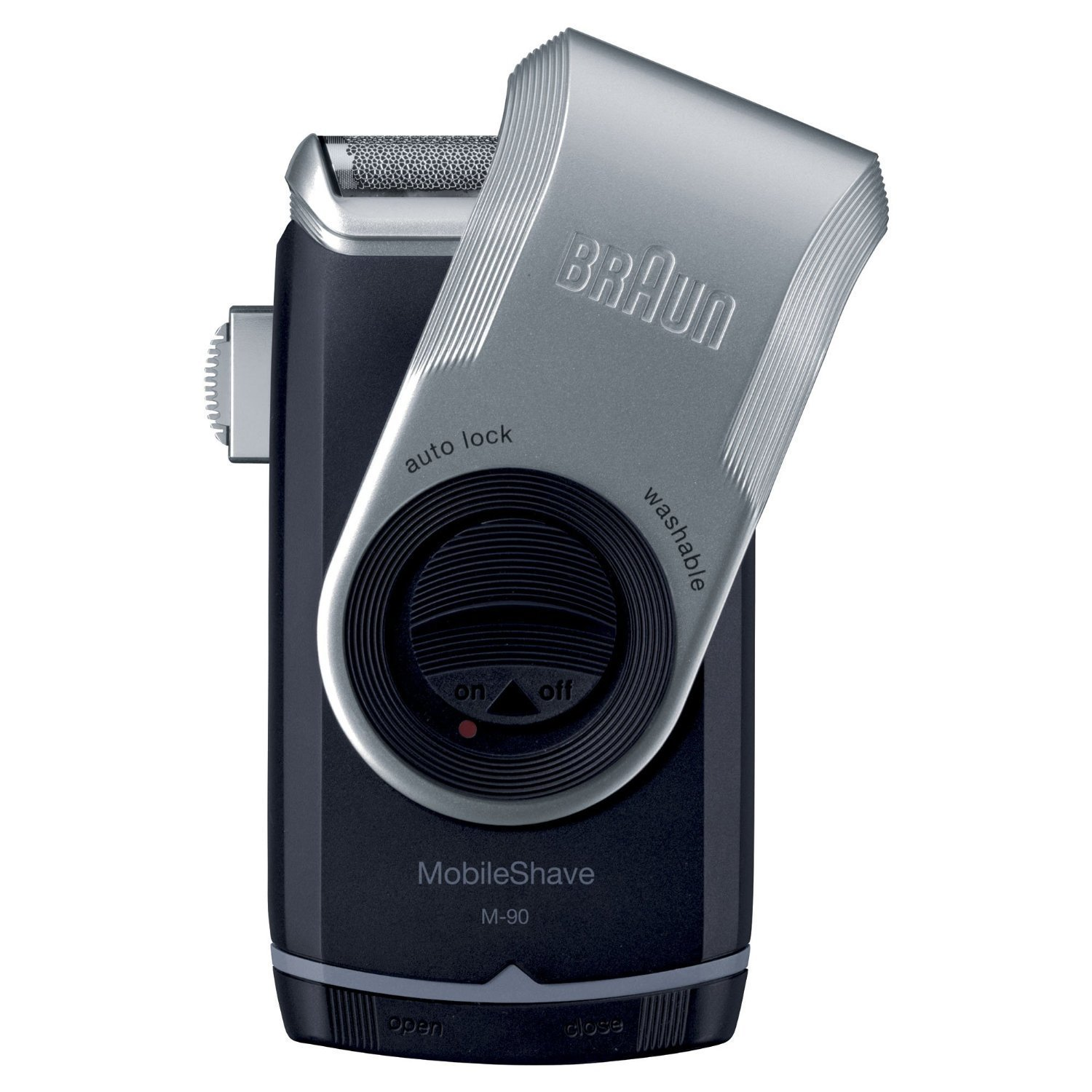 """Braun Mobileshave Electric Travel Shaver """"Silver"""""""