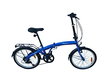 2Fast4You Vogue - Bicicleta plegable para adulto azul azul Talla:20 pulgadas (50,