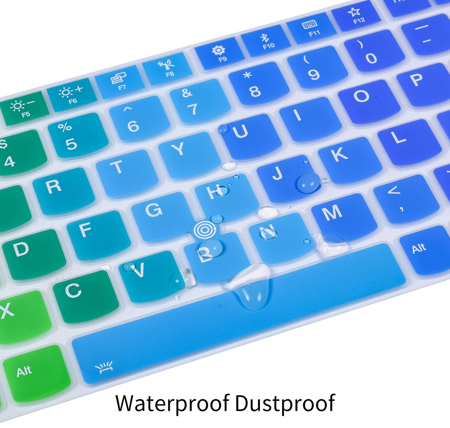 Amazon.com: Colorful Keyboard Cover Compatible with Lenovo ...