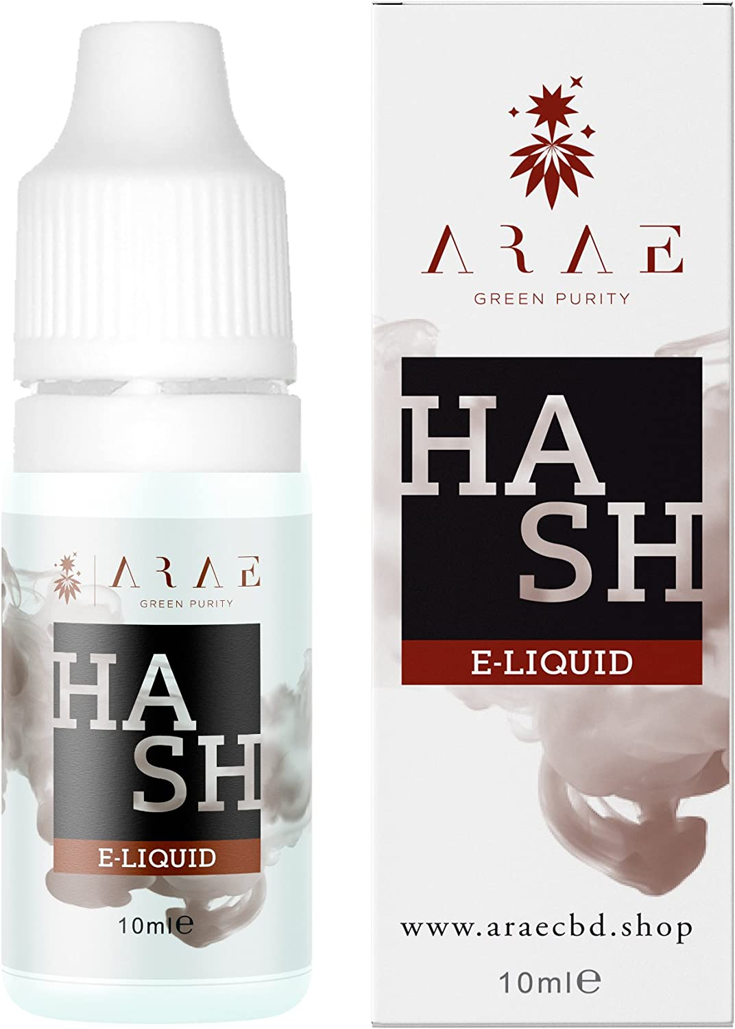 LIQUIDO CBD ORIGINALS ARAE 10ml -100MG SIN NICOTINA (Hash)