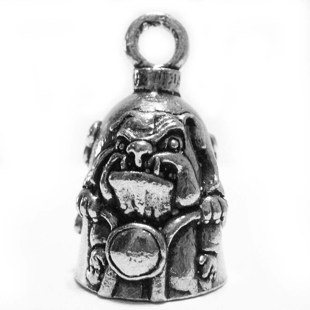 Guardian/® Wolf Head Motorcycle Biker Luck Gremlin Riding Bell or Key Ring