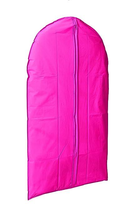 Bright Pink Compactor Garment Bag